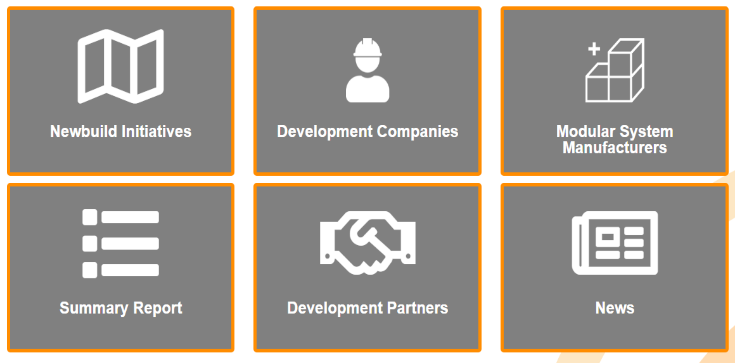 Newbuild - Development Companies - Strategic Partnerships
